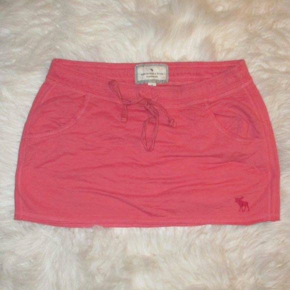 7c8e93b11 Abercrombie & Fitch Dresses & Skirts - Abercrombie & Fitch Women's Pink  Cotton Mini SKirt